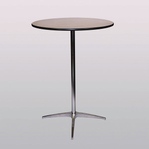 Table, tall, cocktailCost per table: TT$40