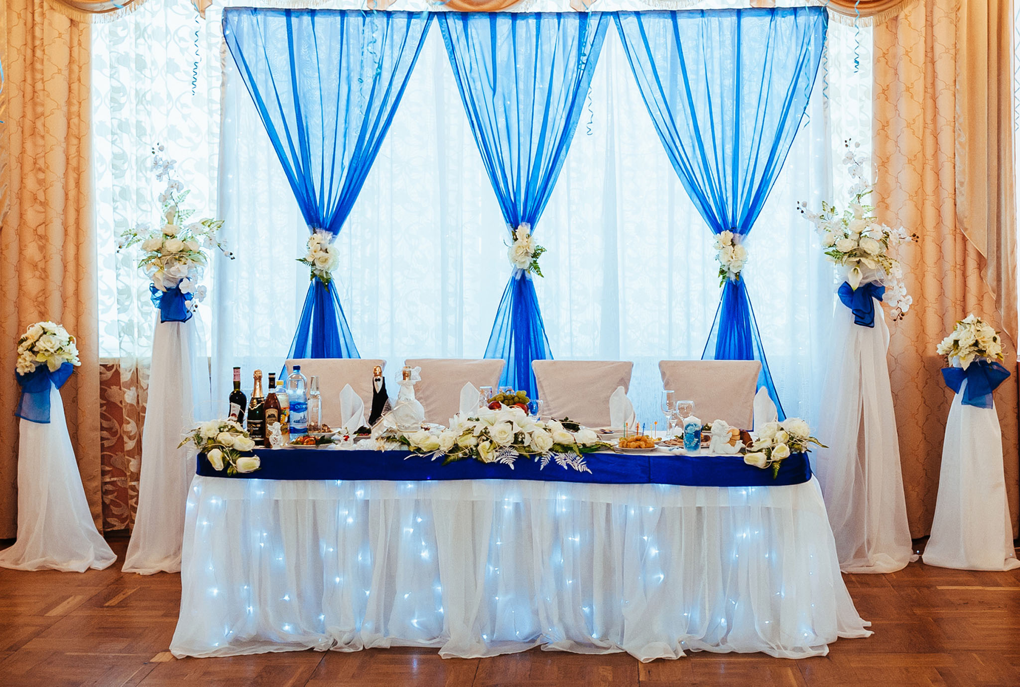 roll deal drapery with drapes drpery rental on wedding organza chair linen design yard maked this cover best