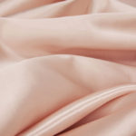 Satin tablecloth, rectangular, blush - for 6-foot and 8-foot tables, full drape. Price: TT$40.00/item