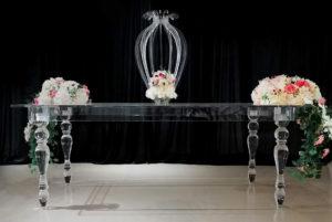 COMING SOON - Acrylic Table - $250