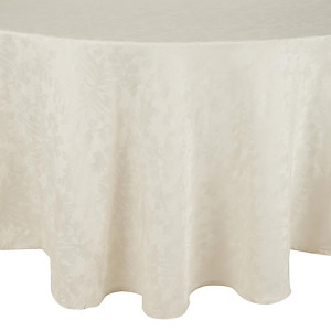 Table cloth, for 5' table, round, ivory Cost per table cloth: TT$40.00