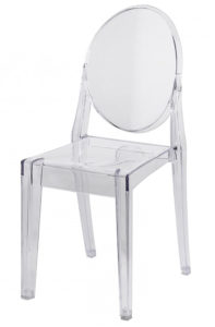 Ghost Chair Price: TT$16.00/chair