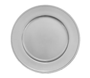 Charger Plate, Silver - $4/plate