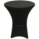 Cocktail cover, spandex, black - $40/cover